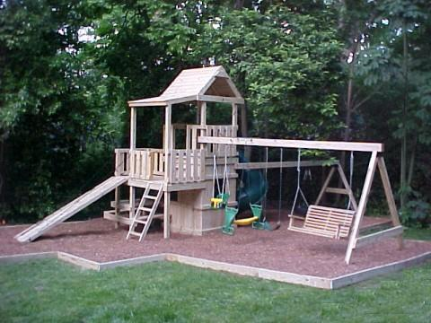 Swing Options Kids Korner Playsets 919 730 3211